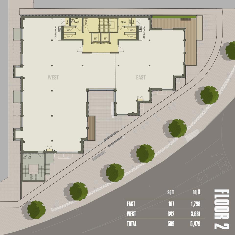 CARGO Work Floor 2 plan